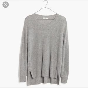 MADEWELL Warmlight Pullover Sweater - Grey